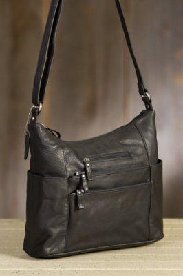 Susan Pebbled Leather Tote Bag