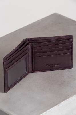 Thinfold Leather Billfold Wallet with RFID Protection