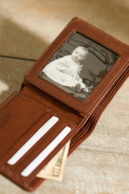 Flipper Bifold Leather Wallet