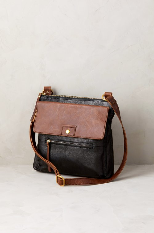 Luna Argentine Leather Crossbody Bag