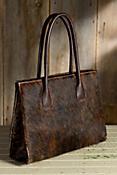 Tulsa Calfskin Leather Tote Bag