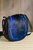 Overland Nova Springbok Leather Crossbody Handbag