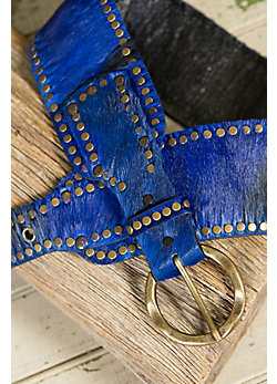 Overland Springbok Leather Belt