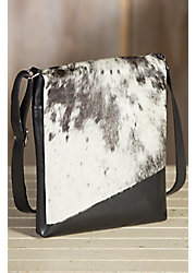 Eckert Medium Cowhide Crossbody Handbag