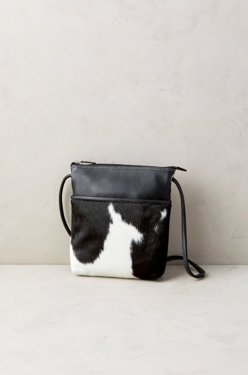 Ashland Cowhide Crossbody Bag