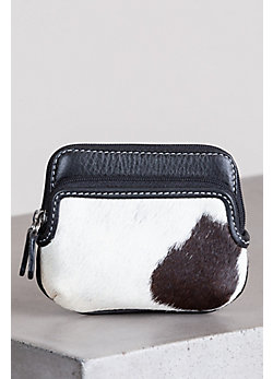 Taft Cowhide Mini Coin Pouch Wallet