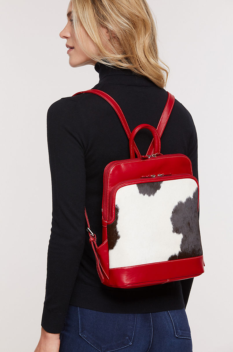 Odessa Cowhide Backpack