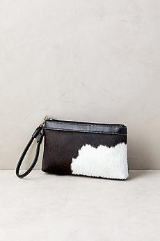 Overland Lanie Cowhide Wristlet Wallet
