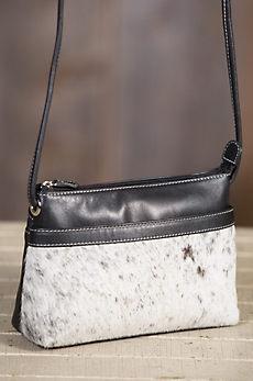 Overland Adeline Cowhide Crossbody Handbag