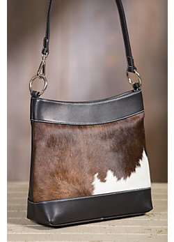 Overland Cheyenne Leather Crossbody Tote Bag