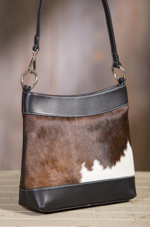 Overland Cheyenne Cowhide Crossbody Shoulder Bag