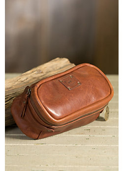 Will Desmond Bridle Leather Travel Kit