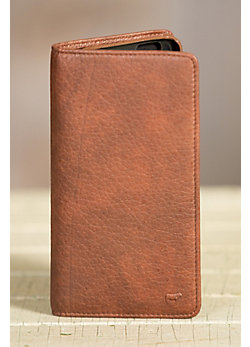 Will Large Deluxe Leather Phone Case