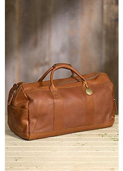 Will Barrel Leather Duffel Bag