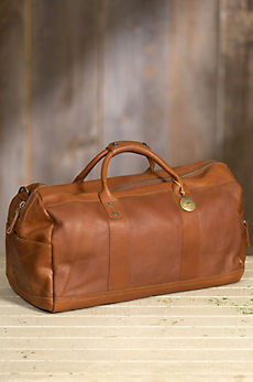 Will Barrel Leather Duffel Bag