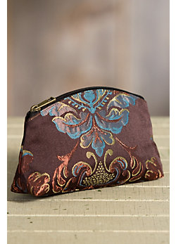 Rockwell Tharp Passion Ranch Brocade Wristlet Clutch