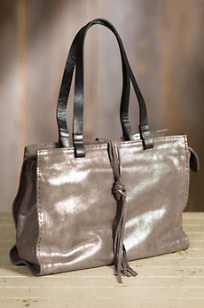 Overland Carmel Vintage Leather Tote Bag