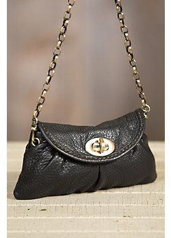 Overland Amy Italian Calfskin Leather Clutch Handbag
