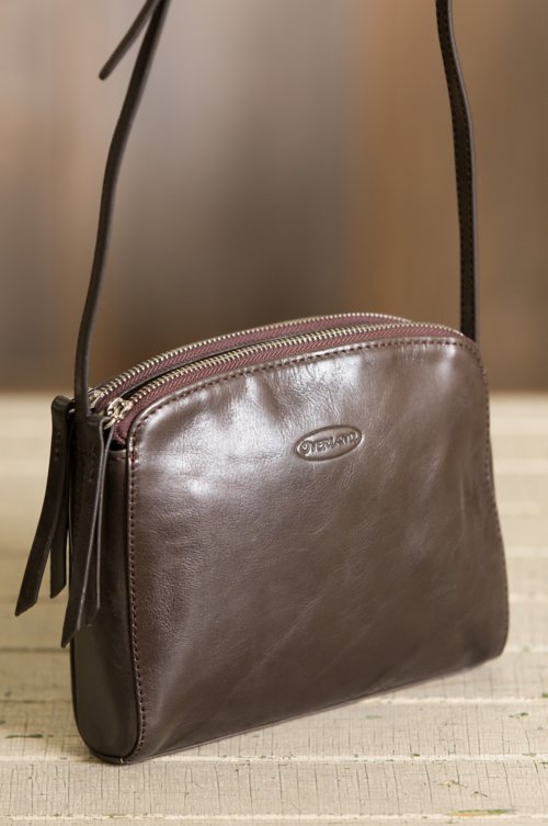 Cortena Leather Crossbody Bag