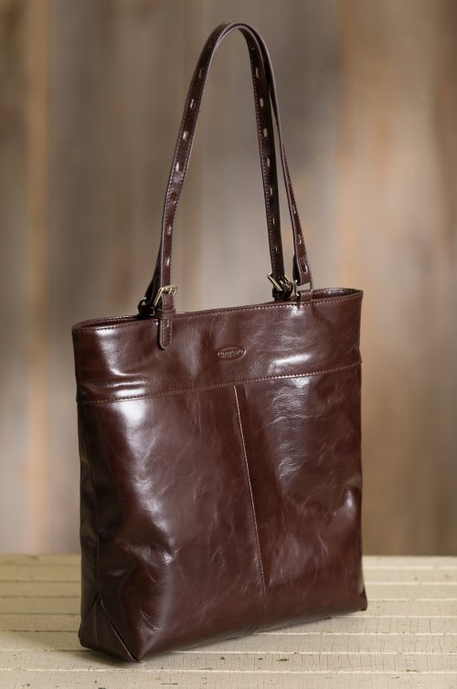 Attica Leather Tote Bag