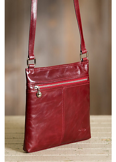 Murrieta Leather Crossbody Bag
