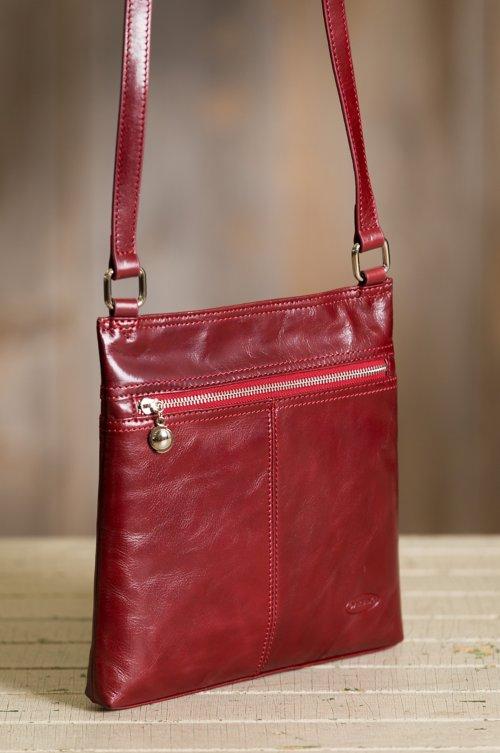 Murrieta Leather Crossbody Bag
