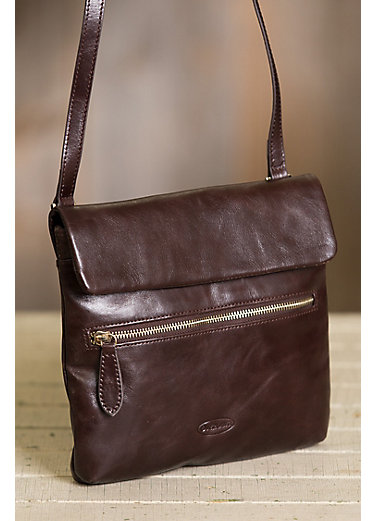 Romina Leather Crossbody Bag