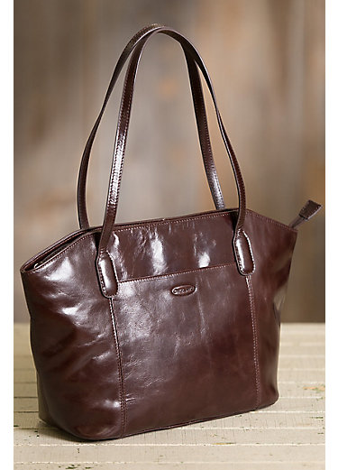 Avenue Leather Shoulder Bag