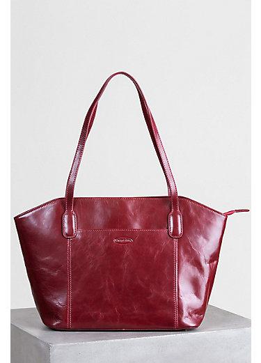 Avenue Leather Shoulder Bag