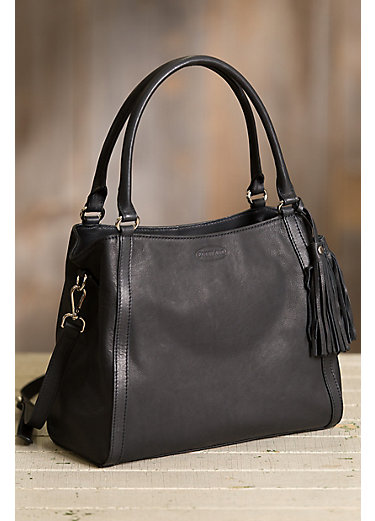 Elyria Leather Crossbody Handbag