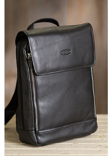Concord Premium Leather Laptop Backpack