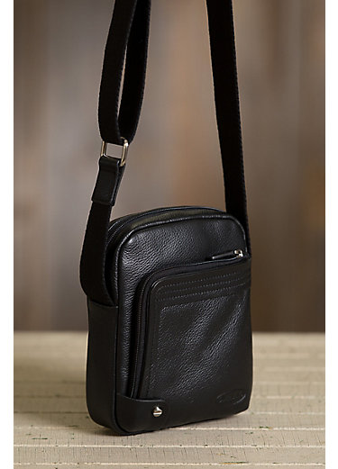 Dash Leather Messenger Bag