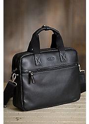 Arlington Leather Laptop Briefcase
