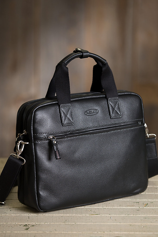 Arlington Leather Laptop Briefcase