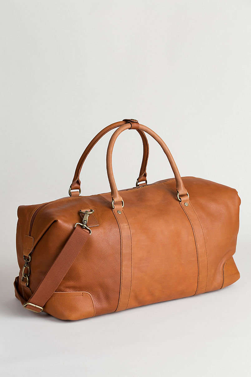 Montecito Leather Duffel Bag
