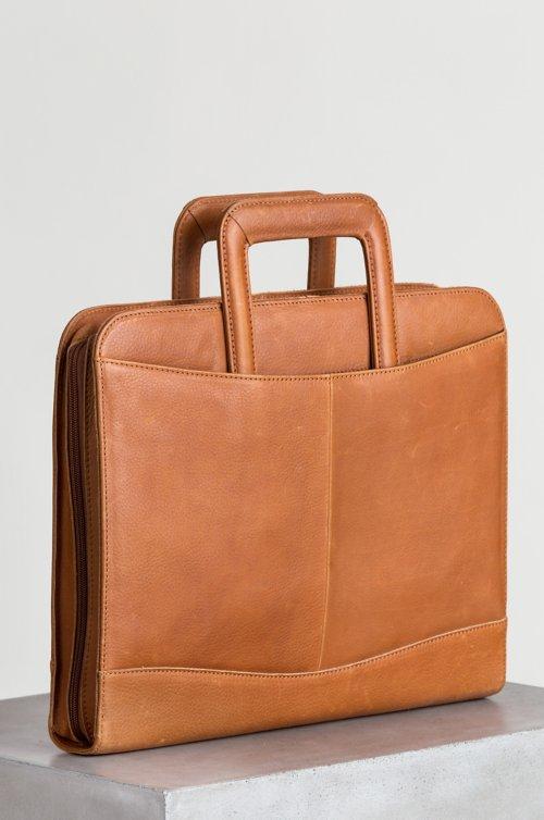 Montecito Leather Portfolio Briefcase