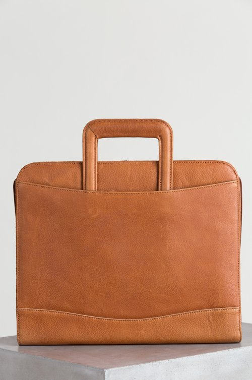 Montecito Leather Portfolio Briefcase