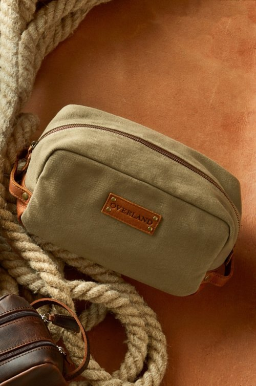 Montecito Canvas Travel Kit