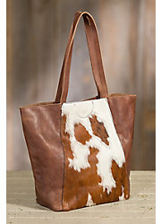 Overland Murray Cowhide Tote Bag