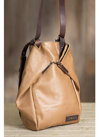 Casgrain Leather Convertible Crossbody Tote Backpack