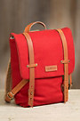 Fairmount Wool and Leather Backpack