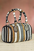 Think Linear Mary Frances Designer Handbag
