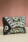 Out of the Blue Mary Frances Designer Clutch Handbag