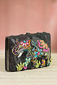 Elephant Flowers Mary Frances Designer Handbag