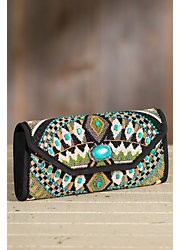 Tahoe Mary Frances Designer Clutch Handbag