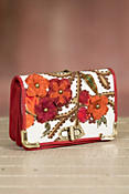 Well Red Mary Frances Designer Handbag
