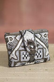 Magic Carpet Mary Frances Designer Clutch Handbag