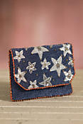 Liberty Mary Frances Designer Clutch Handbag