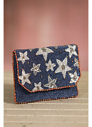 Liberty Mary Frances Designer Clutch Handbag