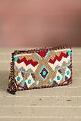 Turquoise Power Mary Frances Designer Coin Pouch